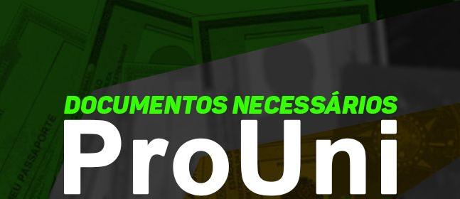 Documentos Necessário PROUNI 2019